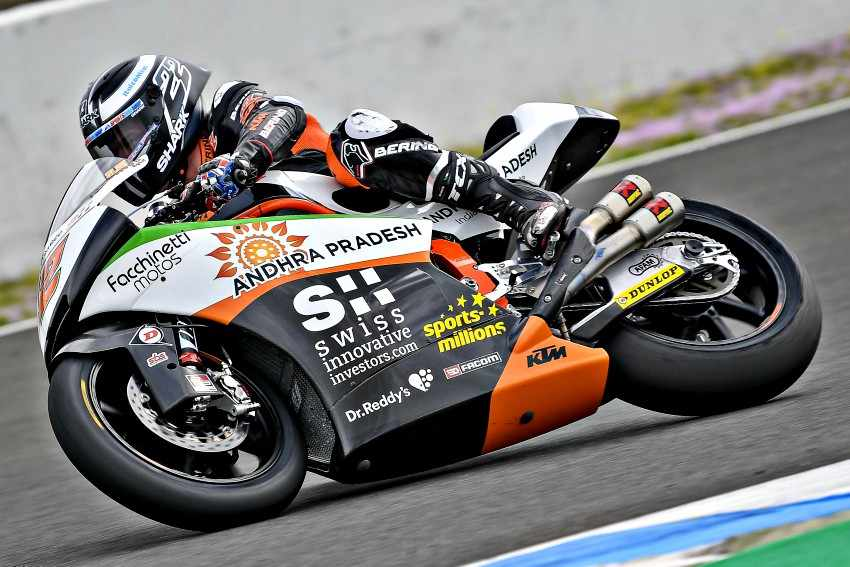 Sam Lowes Moto2 2018 Test Jerez