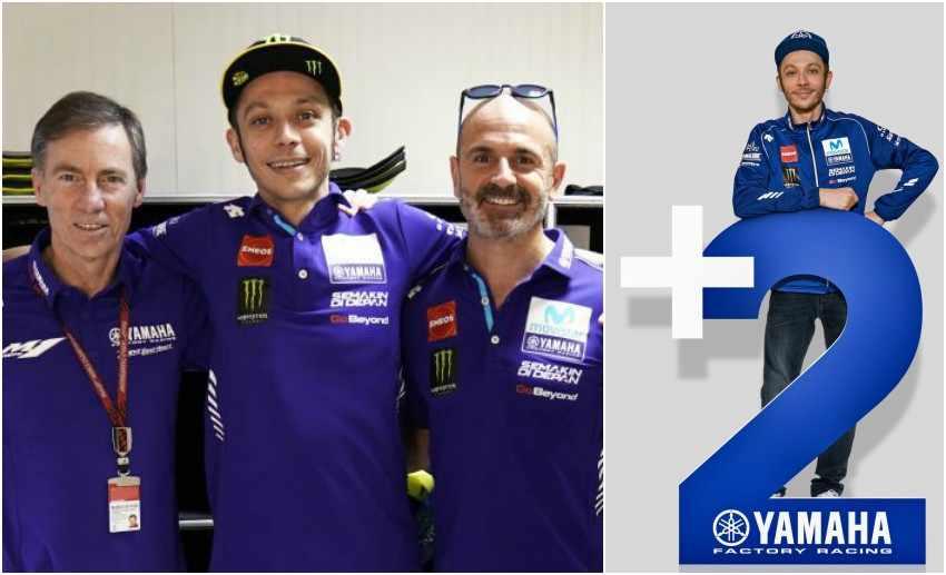 Valentino Rossi renueva con Yamaha MotoGP hasta 2020