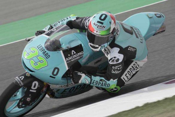Enea Bastianini termina el primer día en Argentina como el más rápido en Moto3