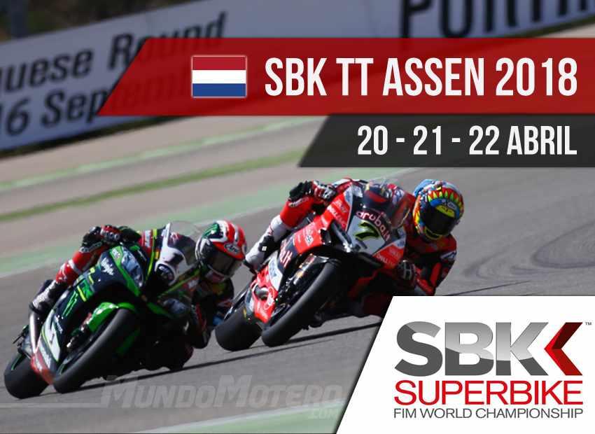 Horarios SBK Assen 2018