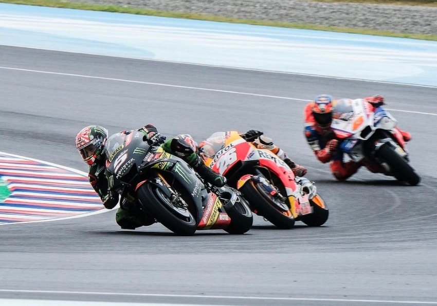 Johann Zarco y Dani Pedrosa - MotoGP 2018