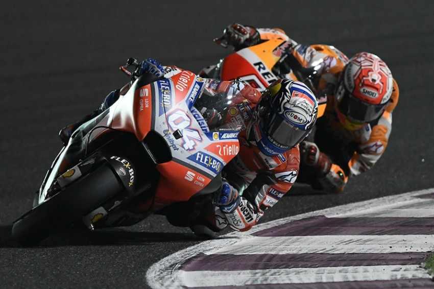 Andrea Dovizioso: Tras la victoria en Qatar estamos con muchas ganas