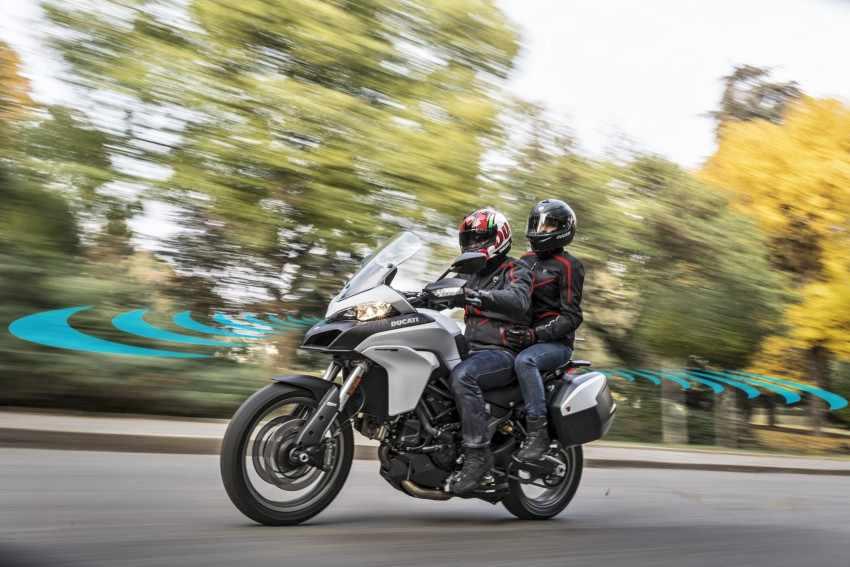 Una Ducati con radar delantero y trasero en desarrollo para 2020