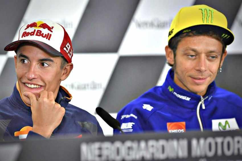 Ni Marc Marquez ni Valentino Rossi estarán en la rueda de prensa de MotoGP del Gran Premio de las Américas 2018