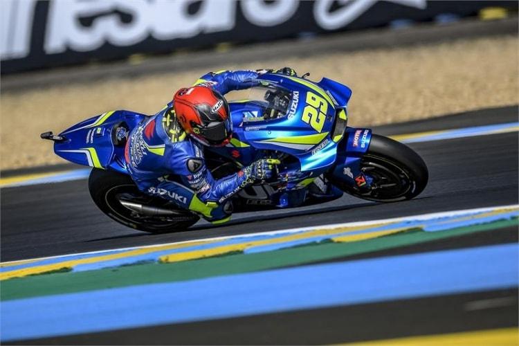Andrea Iannone GP de Francia 2018
