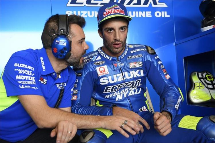 Andrea Iannone abandonará Suzuki a final de temporada