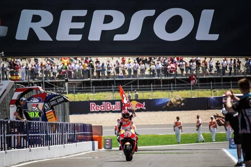 Marc Márquez GP de España 2018