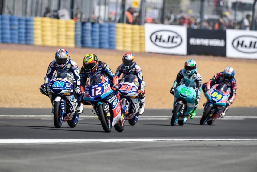 Bezzecchi mantiene el liderato del campeonato a pesar de su caída en Le Mans