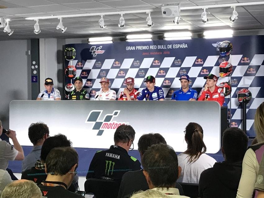 Rueda de Prensa GP de España MotoGP 2018