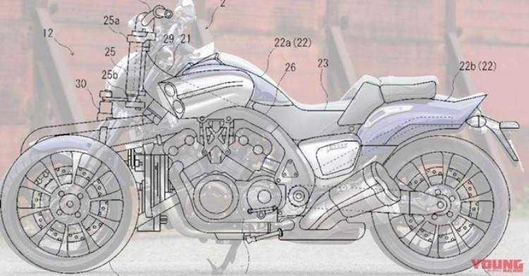Yamaha V-Max 3 ruedas
