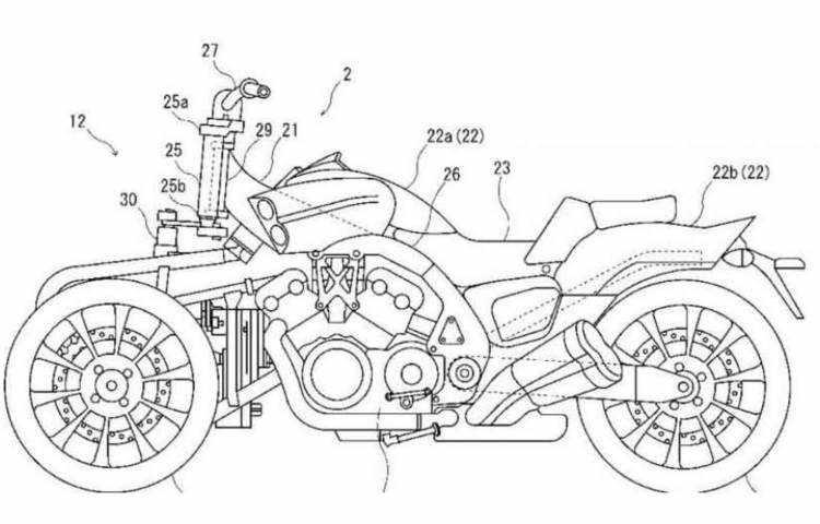 Yamaha V-Max 3 ruedas - Una sorprende apuesta de futuro
