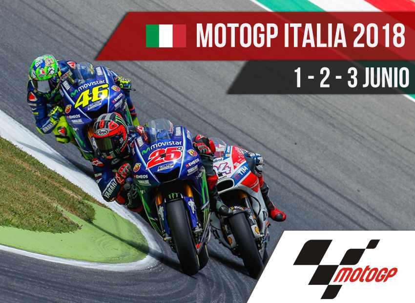 Horarios MotoGP Italia 2018