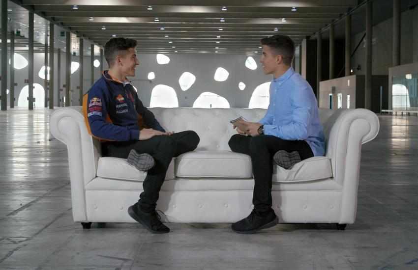 Marc Marquez entrevista a Marc Marquez