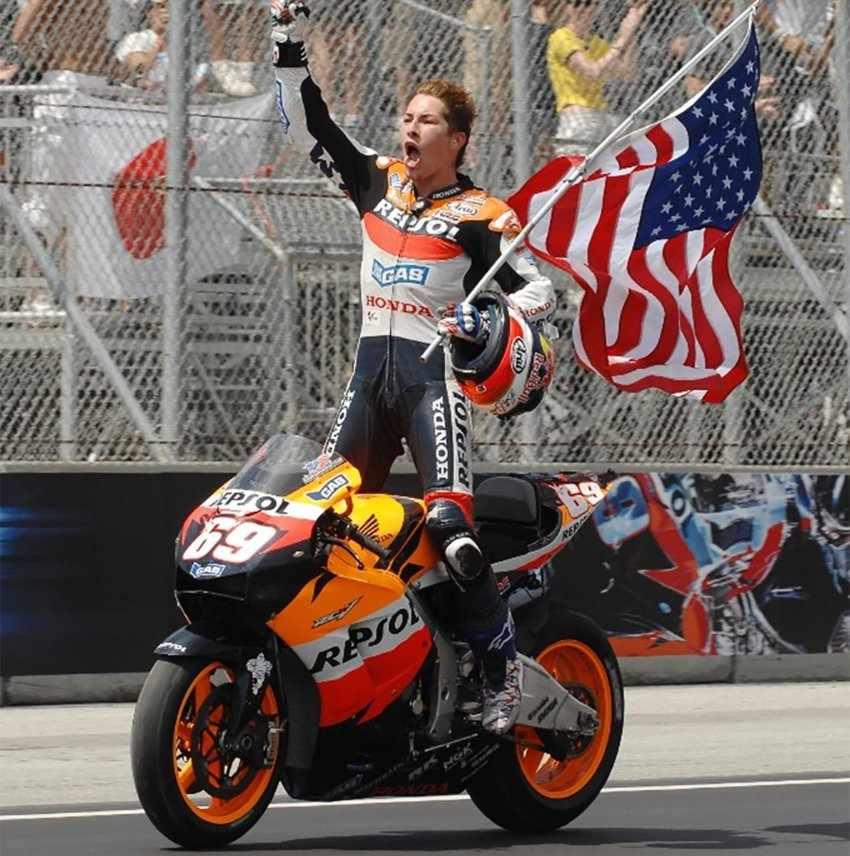 El dorsal 69 de Nicky Hayden se retirará de MotoGP