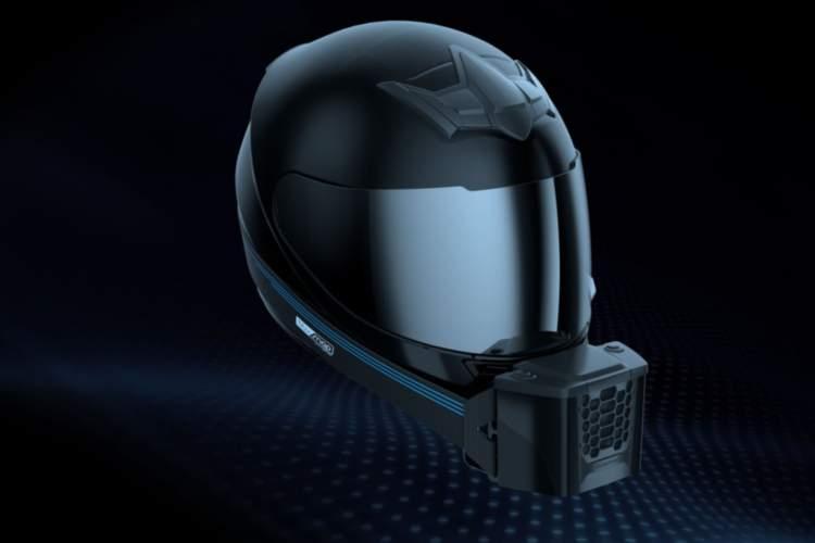 BluSnap - Aire acondicionado para el casco de moto