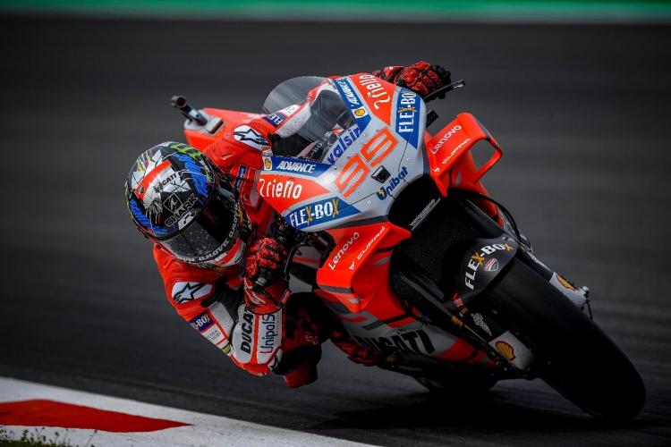 Jorge Lorenzo lidera los entrenamientos de MotoGP en Sachsenring