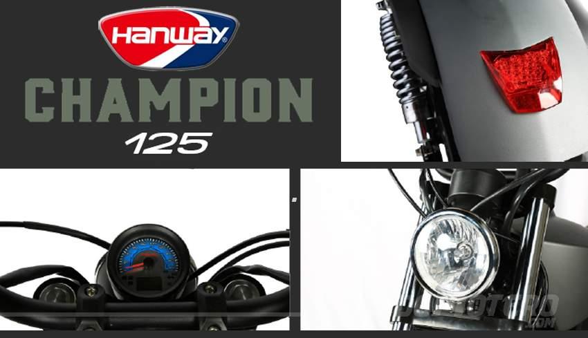 Novedades motos custom 125 - Hanway Champion 125 LC