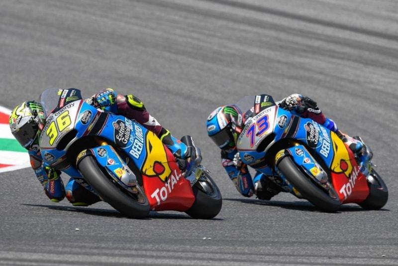 Joan Mir y Alex Marquez - GP Catalunya ©MotoGP