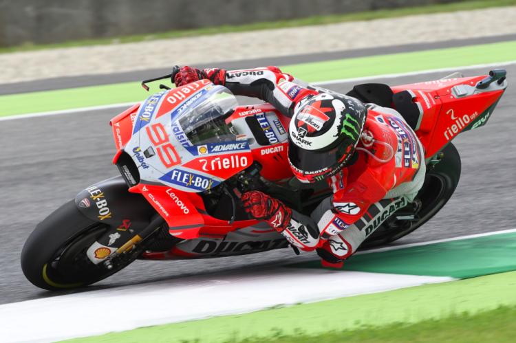 Jorge Lorenzo GP de Italia MotoGP 2018