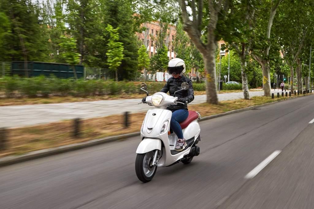 KYMCO Filly 125 motos para mujeres bajitas