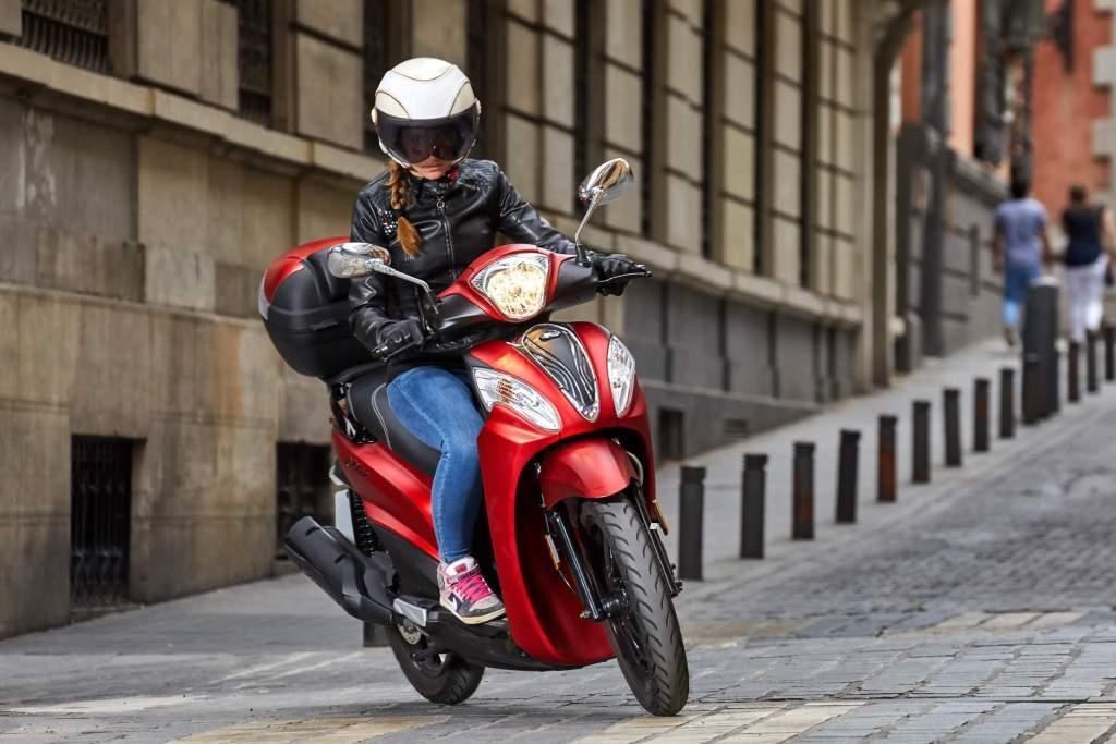 motos para chicas KYMCO Filly 125