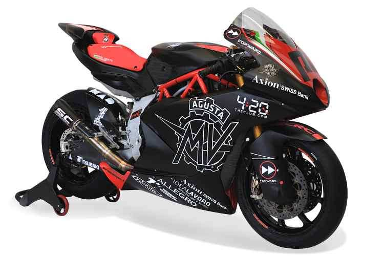 MV Agusta Moto2 2019 Forward Racing
