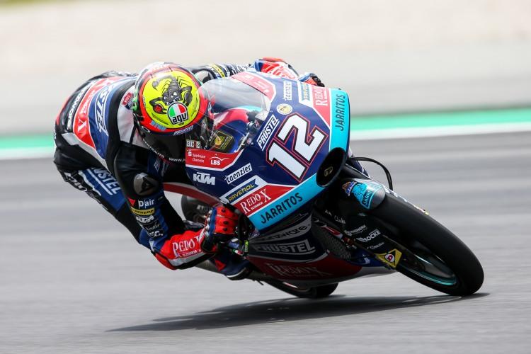 KTM ha anunciado que Bezzecchi correrá el año que viene en el equipo Tech3 de Moto2