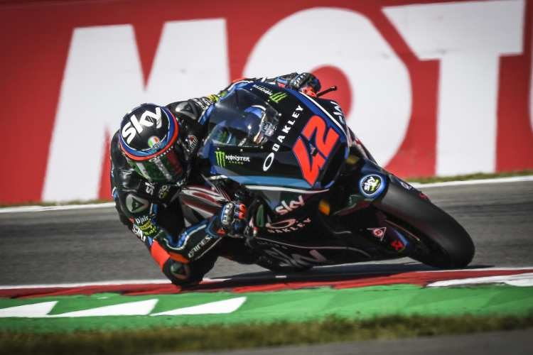 Bagnaia quiere irse de vacaciones siendo el líder de Moto2
