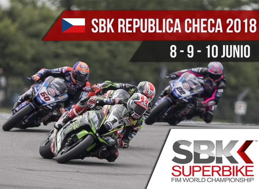 Horarios SBK Brno 2018