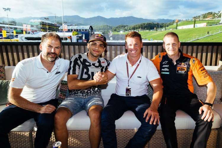 Jorge Martin ficha por KTM por dos temporadas en Moto2