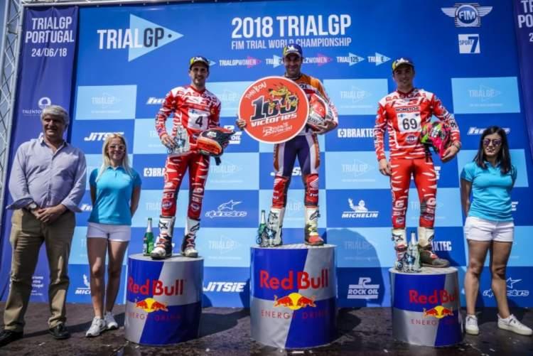 Mundial TrialGP 2018 Portugal – Toni Bou suma su victoria número 100