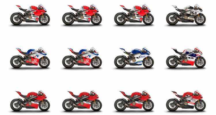 No 1 sino 12 Ducati Panigale V4 S personalizadas a subasta