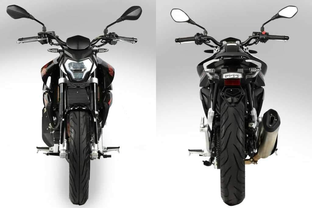 Motos Naked 125 cc - Hanway Furious NK 125S