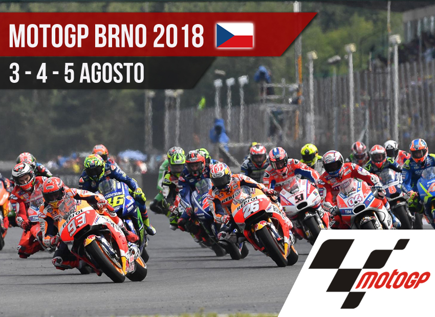 Horarios MotoGP Brno 2018