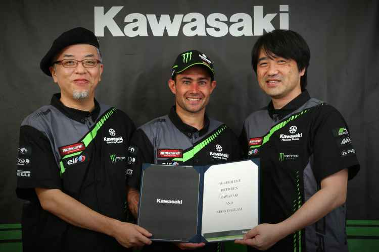 Leon Haslam ficha por equipo oficial Kawasaki en SBK