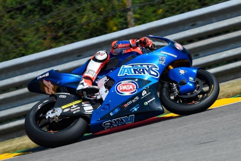 Pasini reaparece y se lleva la Pole de Moto2 en Sachsenring