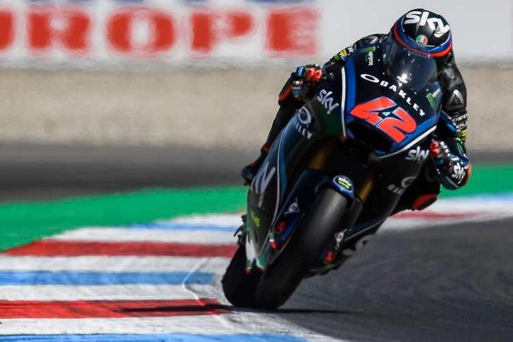 Francesco Bagnaia se impone en la carrera de Moto2 en Assen
