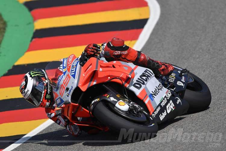 MotoGP Alemania 2018 - jorge Lorenzo
