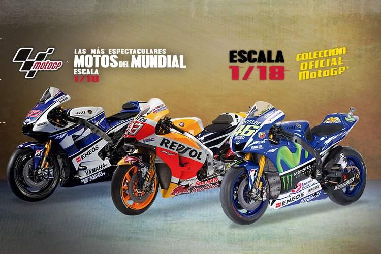 Las motos del mundial de MotoGP™ a escala 1/18 con Altaya