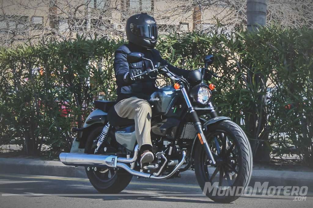 Prueba Hyosung Aquila 250 DR 2018. Un moto custom A2 polivalente