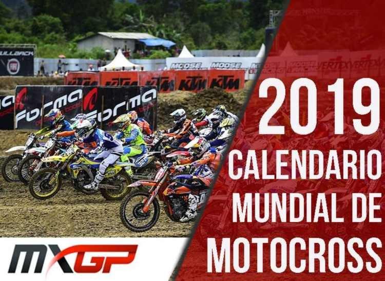 Calendario Mundial Motocross 2019 MXGP