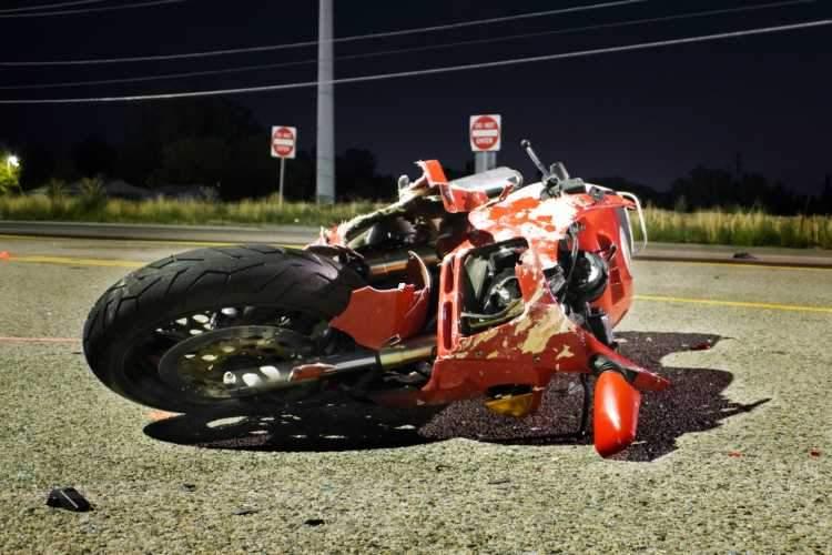 Fallecidos en accidente de moto en España en 2017