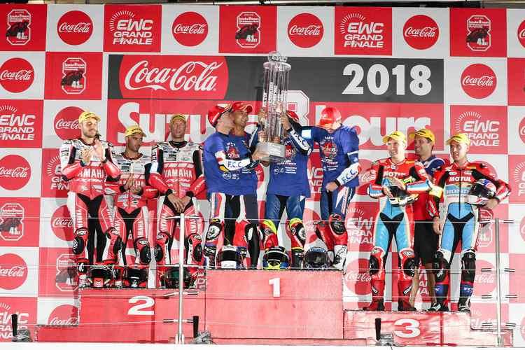 FCC TSR Honda - Campeón del FIM EWXC 2017 - 2018