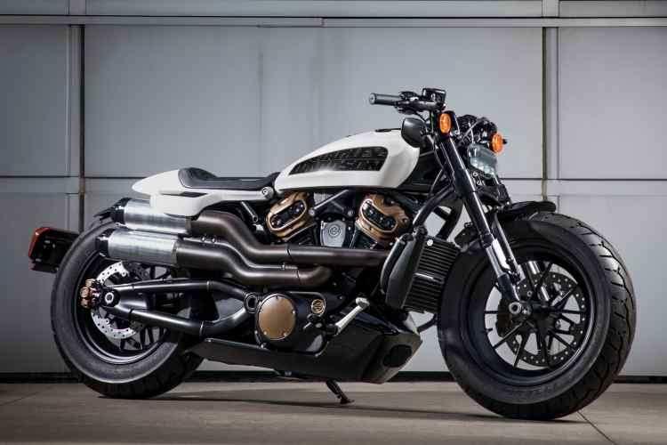 nueva moto custom Harley-Davidson