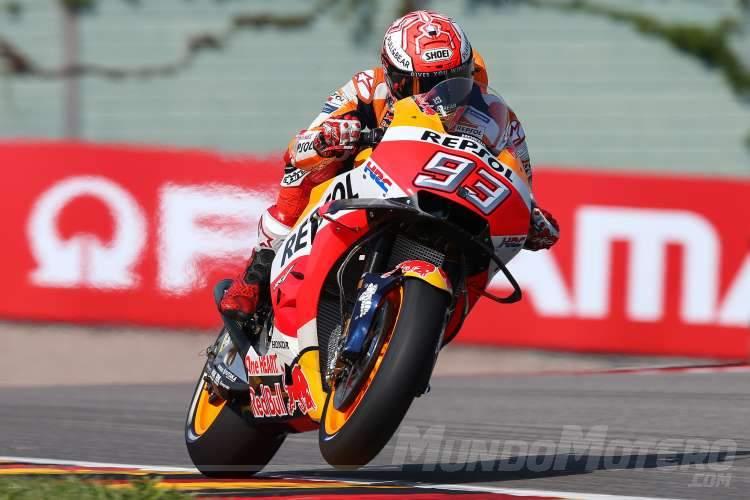 Pole MotoGP Alemania Marc Marquez