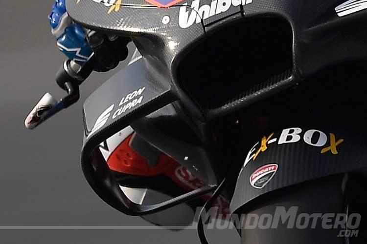 Cambios en las normas de aerodinámica de las Motos GP en 2019
