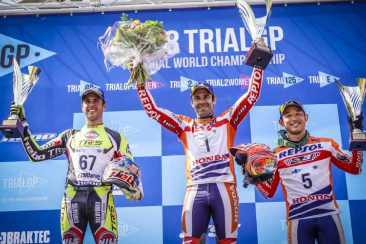 Mundial TrialGP 2018 Bélgica - Toni Bou se lleva la victoria