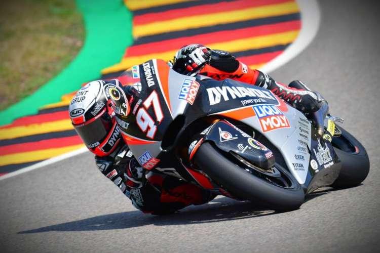 Xavi Vierge manda en los entrenamientos de Moto2 en Sachsenring