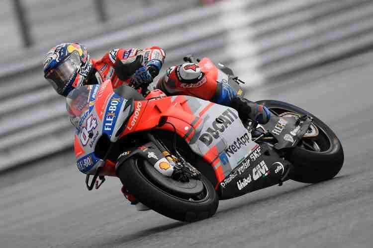 Andrea Dovizioso segundo en parrilla del Gran Premio de MotoGP de Gran Bretaña