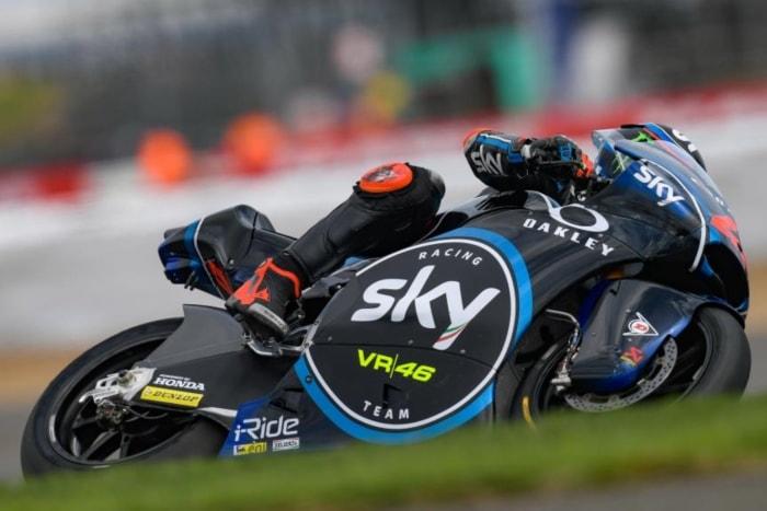Francesco Bagnaia se lleva la Pole de Moto2 en Silverstone
